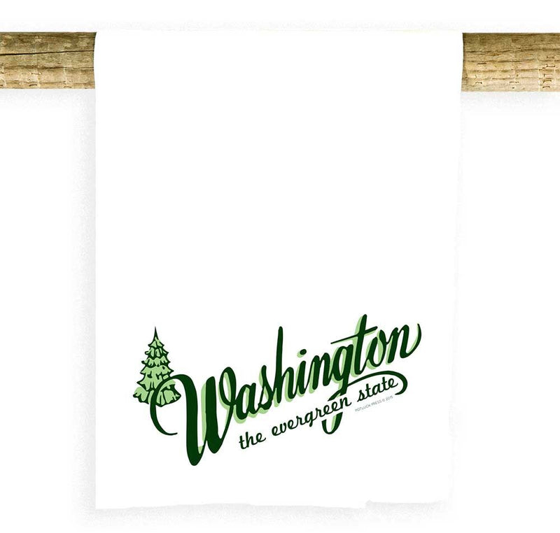 Washington Evergreen State Towel
