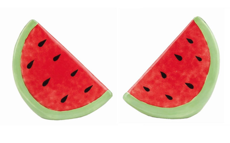Dolomite Red Watermelon Salt and Pepper Shakers
