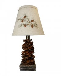 Pinecone Accent Lamp