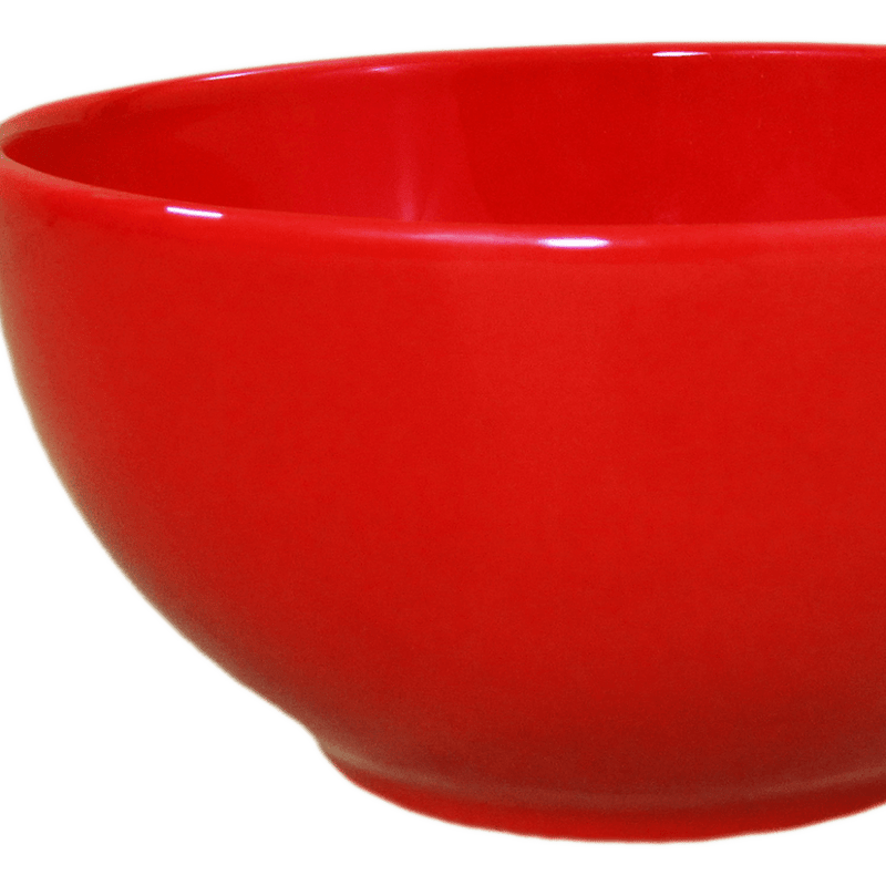 Stoneware Soup/Cereal Bowl - Red