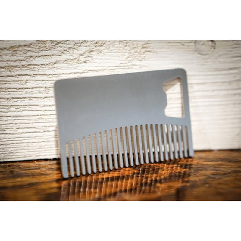 Stainless Steel Beard Comb