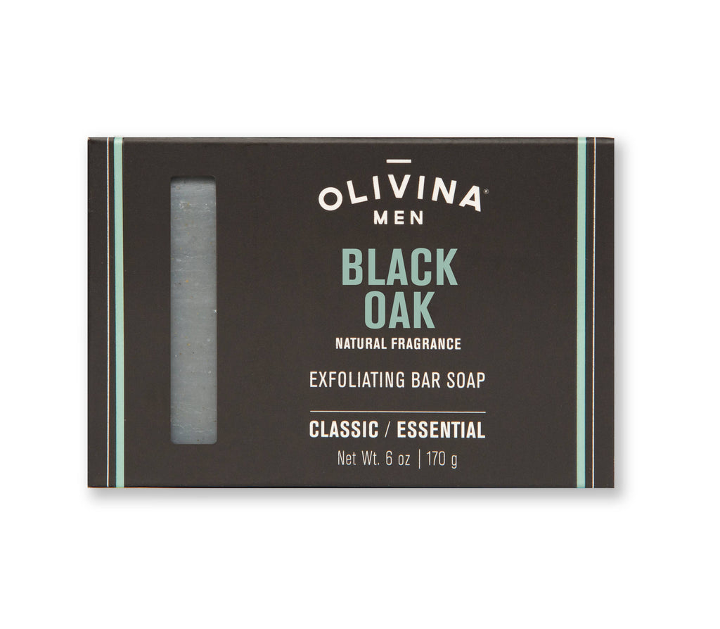 Olivina Men - Black Oak Soap Bar