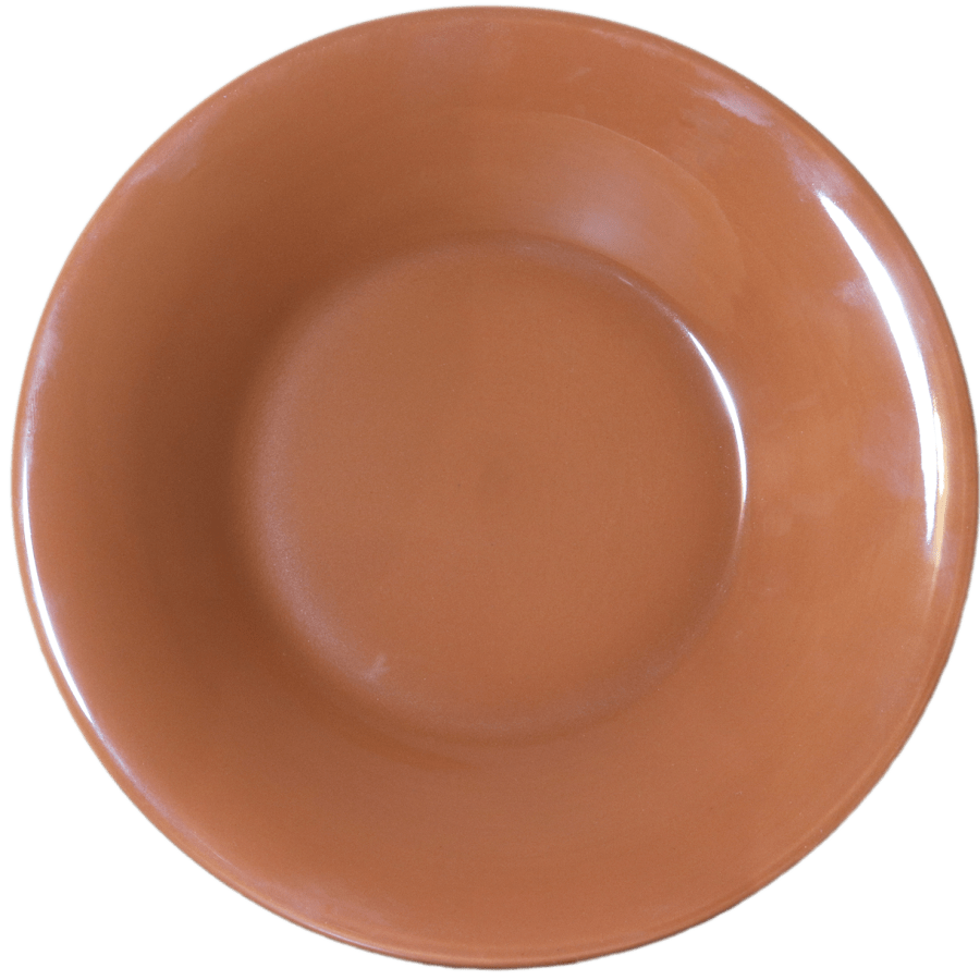 Stoneware Pasta/Salad Bowl - Brown