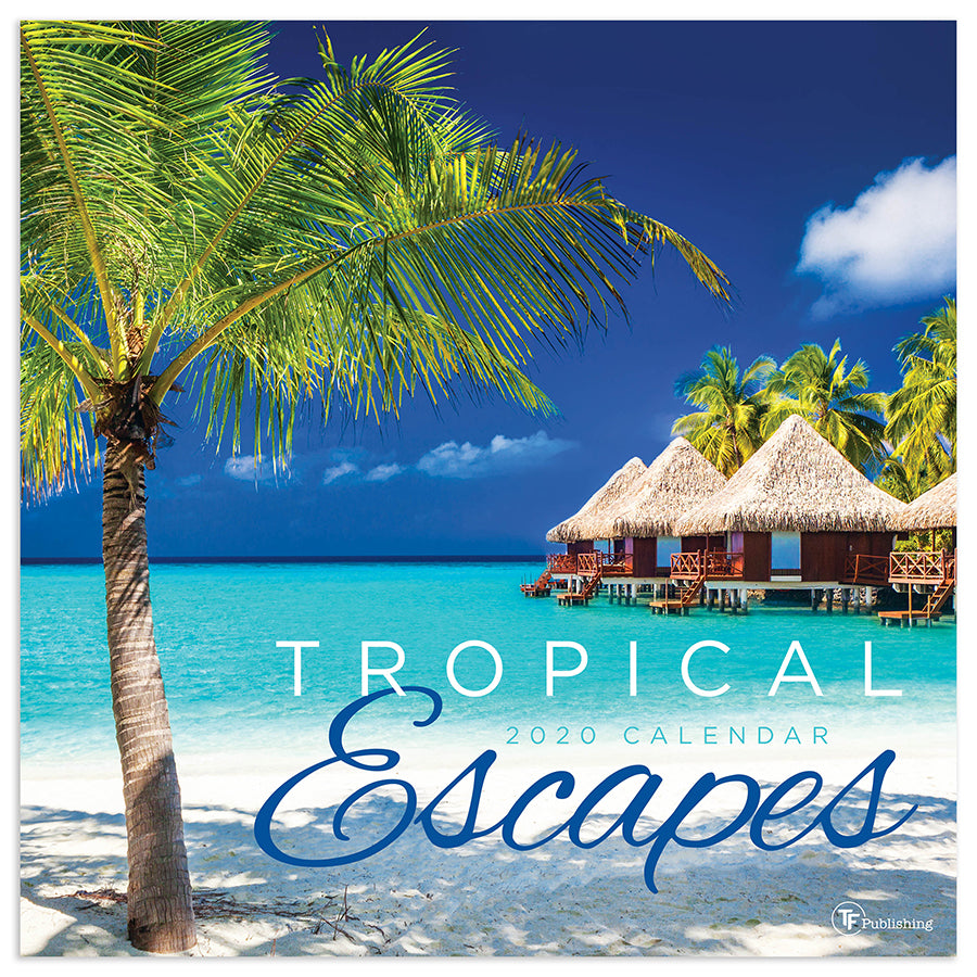 Tropical Escapes Calendar