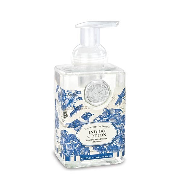 Indigo Cotton Foaming Hand Soap