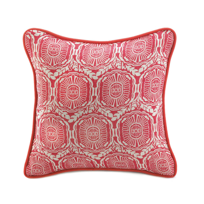 Jute Orange Pillow