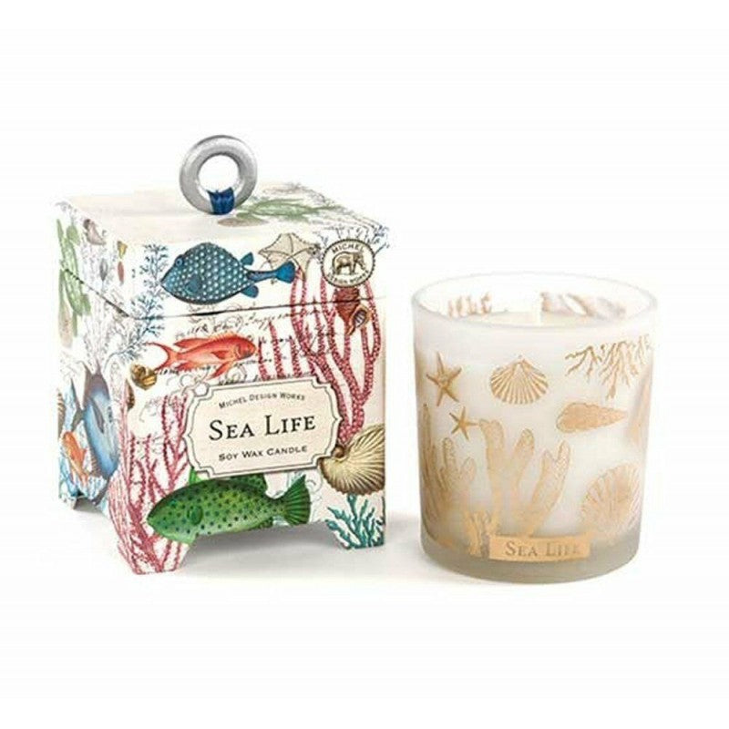 Sea Life 14 oz. Soy Wax Candle