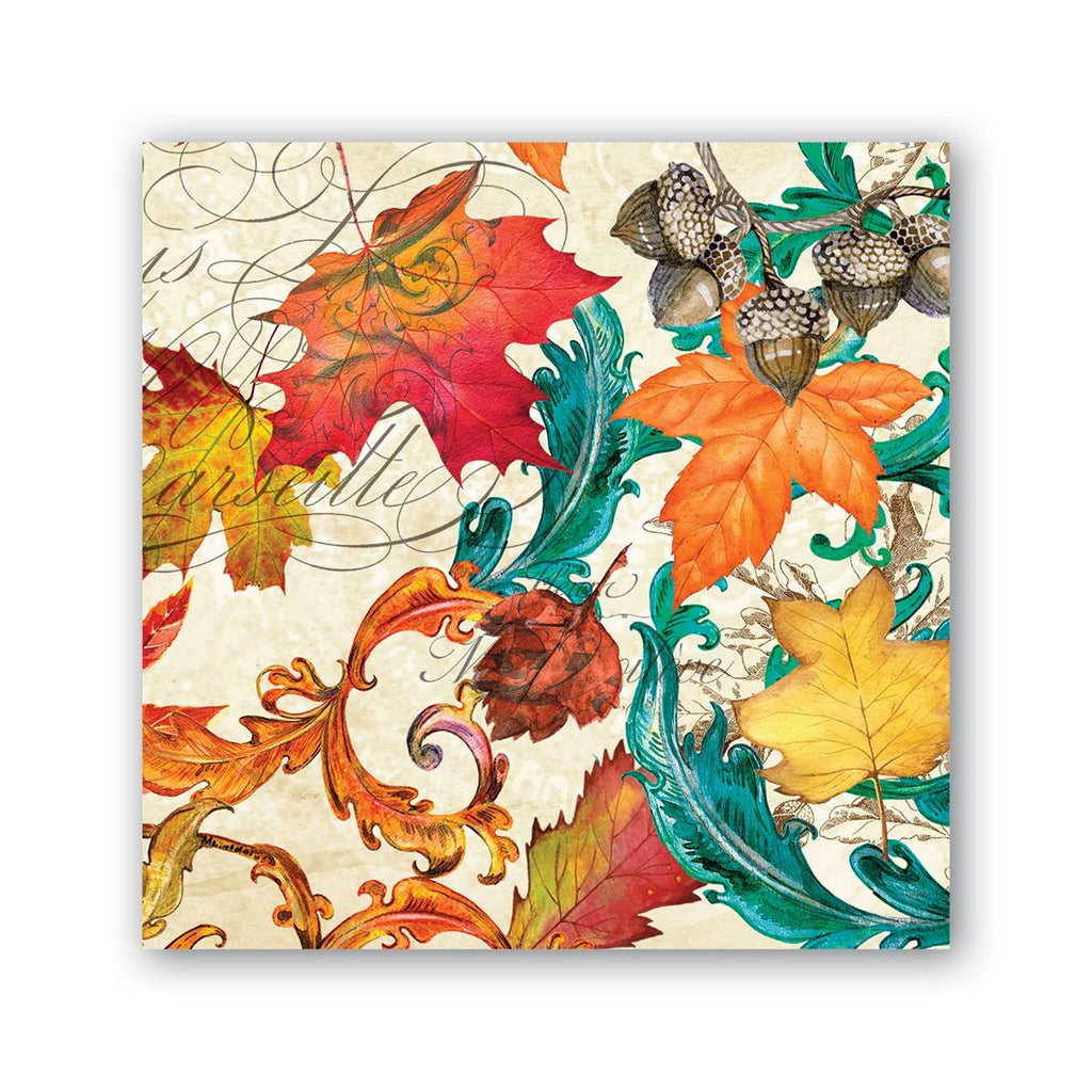 Fall Symphony Cocktail Napkins