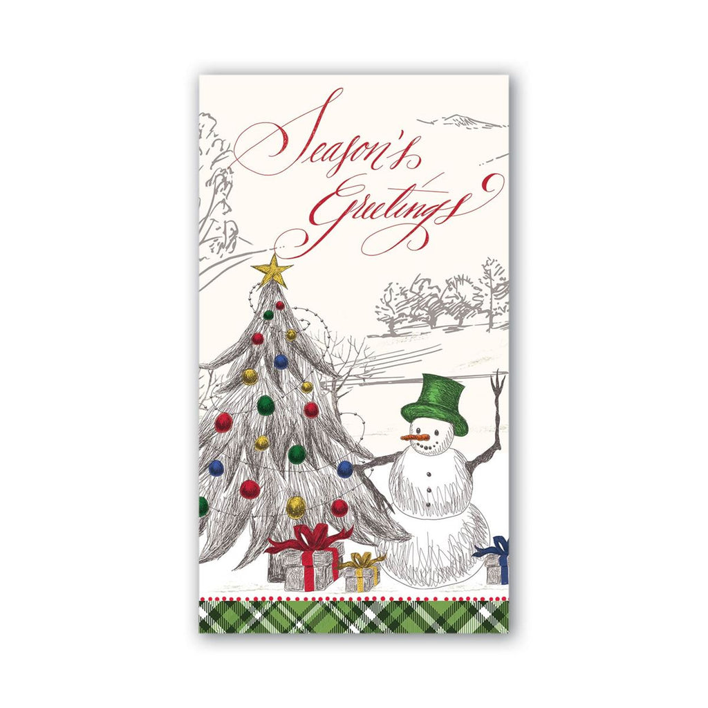 Season's Greetings Hostess Napkins