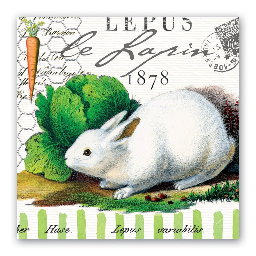 Bunnies Luncheon Napkins