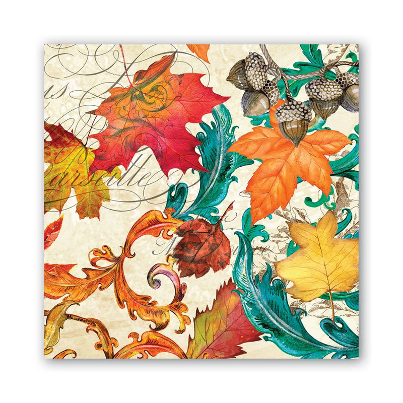 Fall Symphony Luncheon Napkins