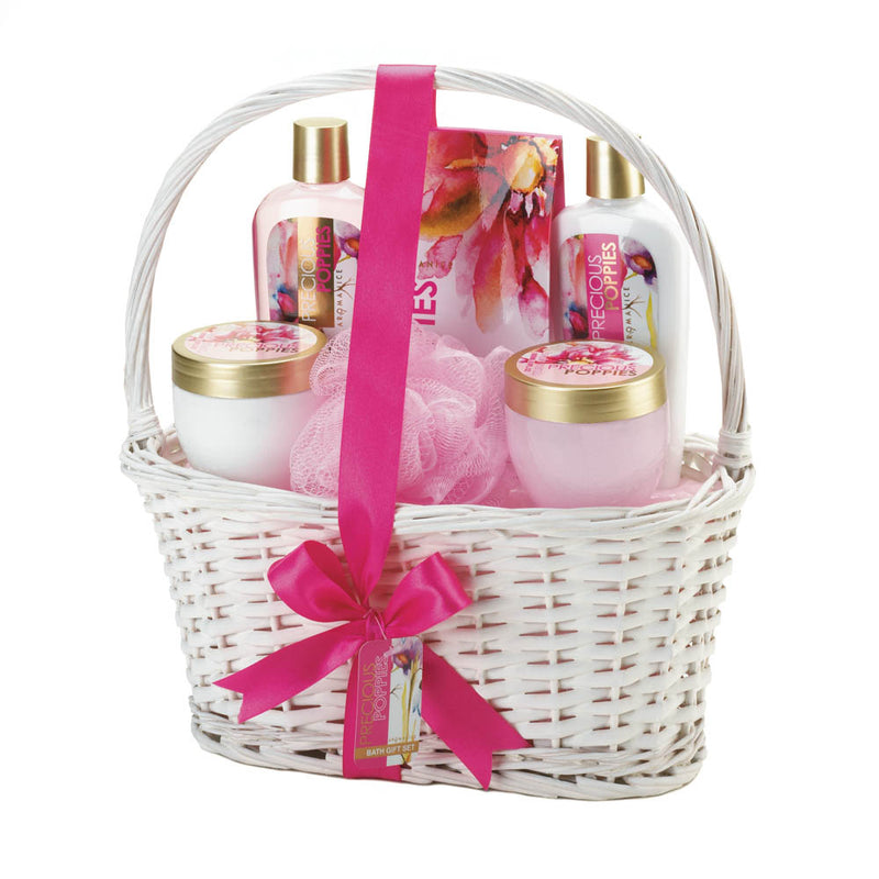 Precious Poppies Spa Gift Basket