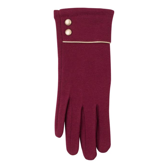 Felicity Glove - Dark Red