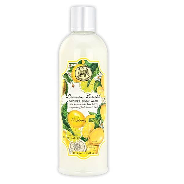 Lemon Basil Shower Body Wash