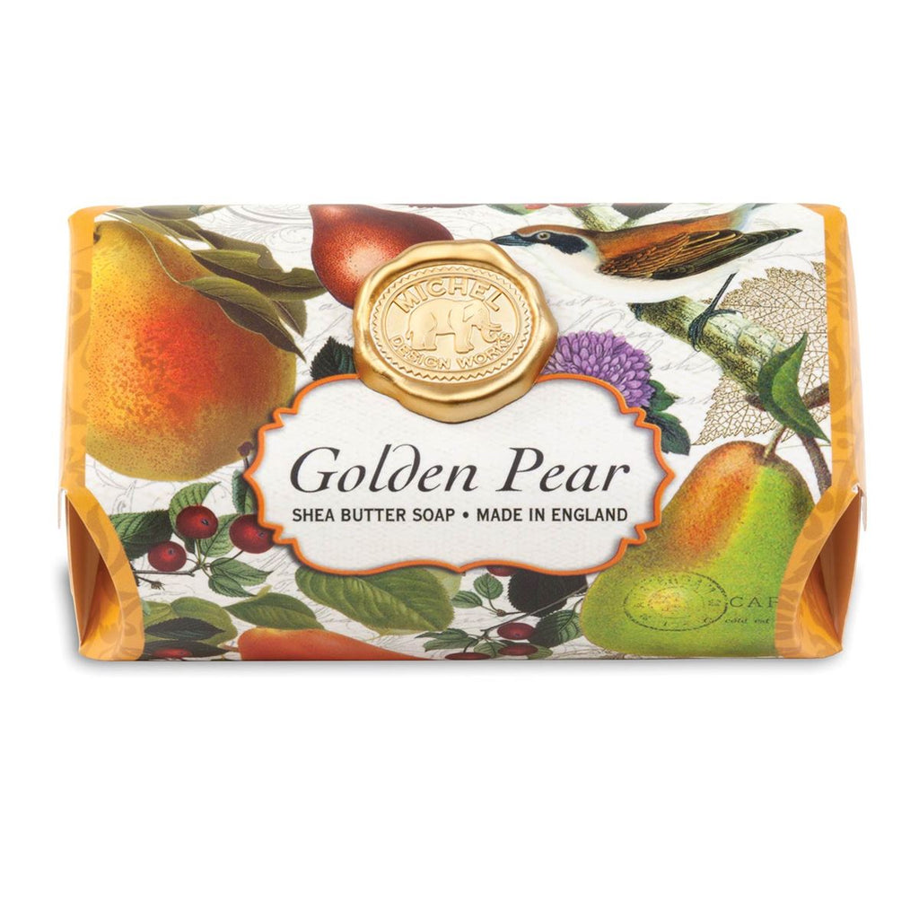 Golden Pear Large Bath Soap