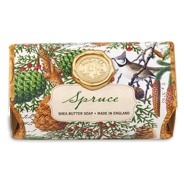 Spruce Large Soap Bar