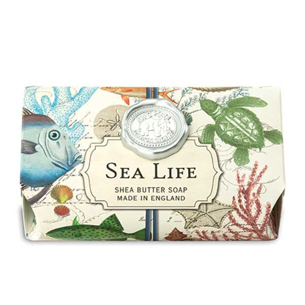 Sea Life Large Soap Bar