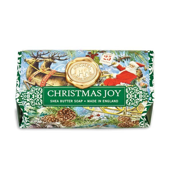 Christmas Joy Large Soap Bar
