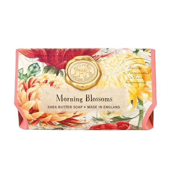 Morning Blossoms Large Soap Bar