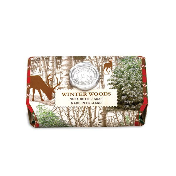 Winter Woods Large Soap Bar