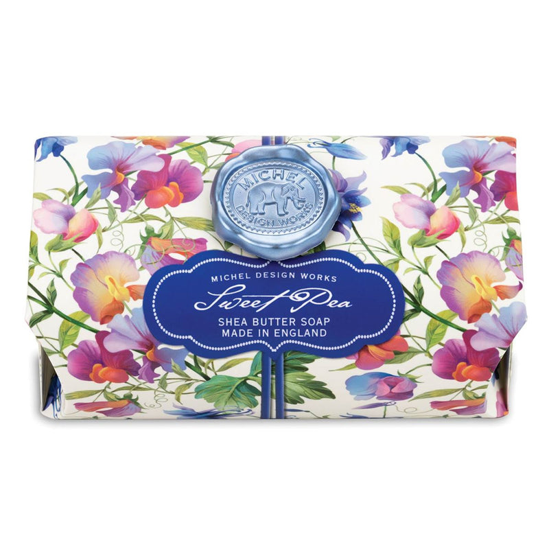 Sweet Pea Large Soap Bar