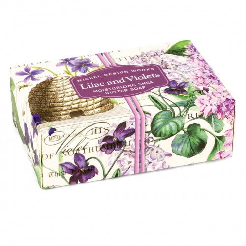 Lilac and Violets Boxed Soap
