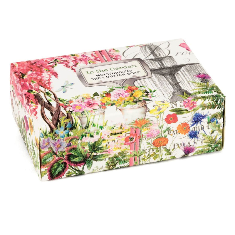 In the Garden Boxed Soap