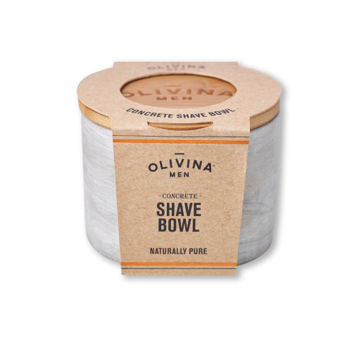 Olivina Men - Concrete Shave Bowl