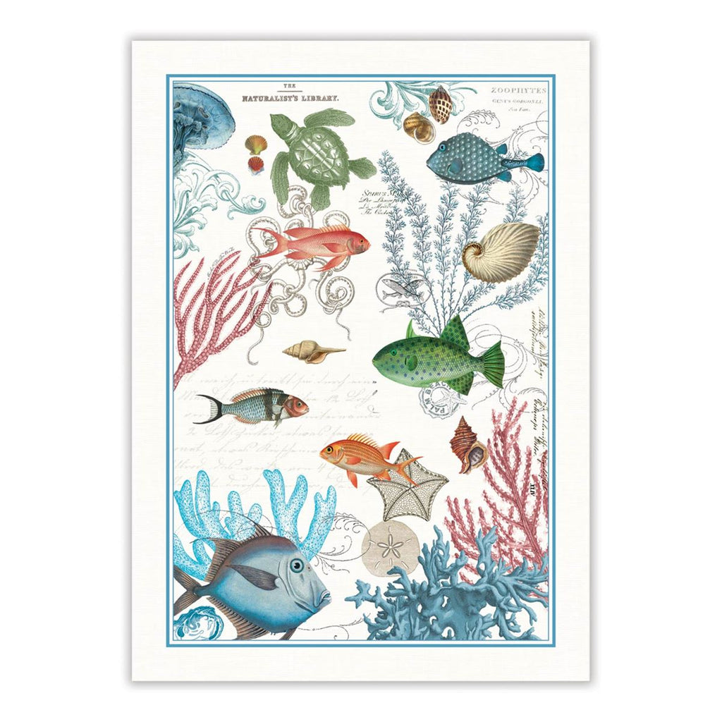 Sea Life Kitchen Towel