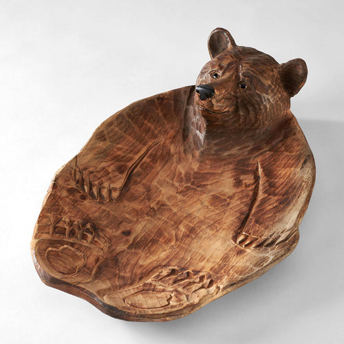 Brown Bear Candy Dish