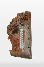 Hand Carved Deer Fawn Termometer
