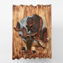 Buffalo With Eagle, Ducks, And Pheasant 3D Wall Art
