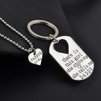 Daddies Girl - Necklace & Key Ring - Find Me Gifts