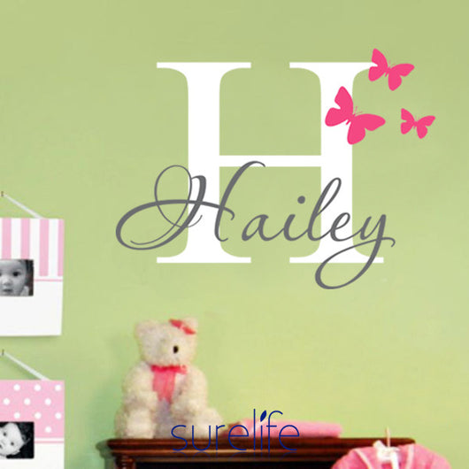 Wall Art Sticker - Personalised with Childs Name - Find Me Gifts