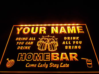 Personalised Bar - Neon Sign Find Me Gifts