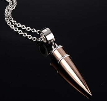 Bullet Style Pendant - Find Me Gifts