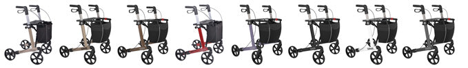 Rehasense lightweight Rollator Walker Server, Options- online Shop Philmed24 Gesundheit