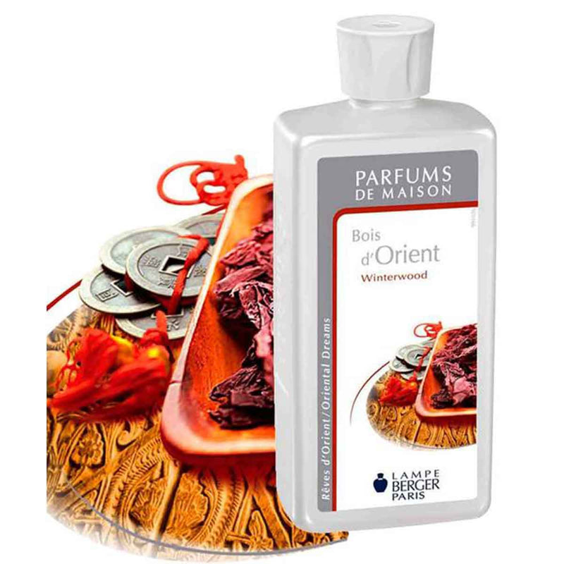 Lampe Berger Parfum Bois d'Orient 500ml, Winterwood - PHILmed 24 Online Shop