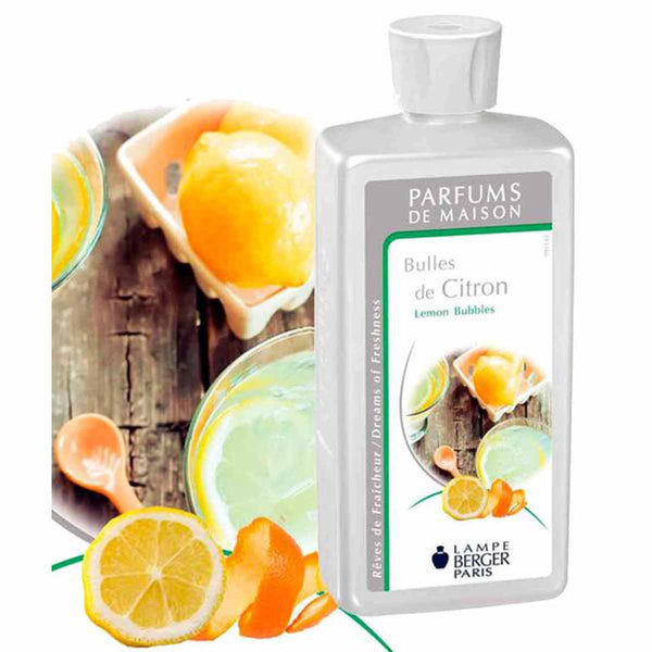 Lampe Berger Parfum Bulles de Citron 500ml, Lemon Bubbles - PHILmed 24 Online Shop