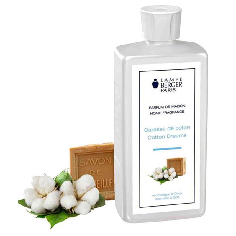 Lampe Berger Parfum Caresse de Coton 500ml, Cotton Dreams - PHILmed 24 Online Shop