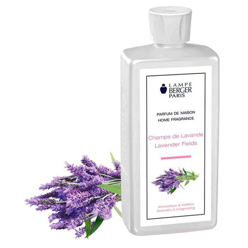 Lampe Berger Parfum Champs de Lavande 500ml, Lavender Fields