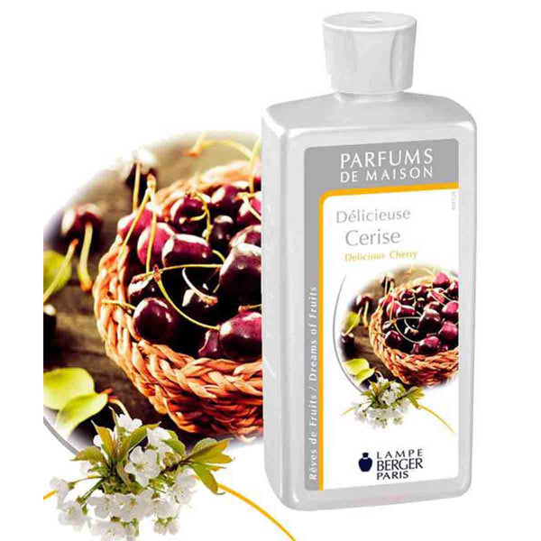 Lampe Berger Parfum Délicieuse Cerise 500ml, Delicious cherry - PHILmed 24 Online Shop