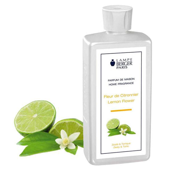 Lampe Berger Parfum Fleur de Citronnier 500ml, Lemon Flower - PHILmed 24 Online Shop