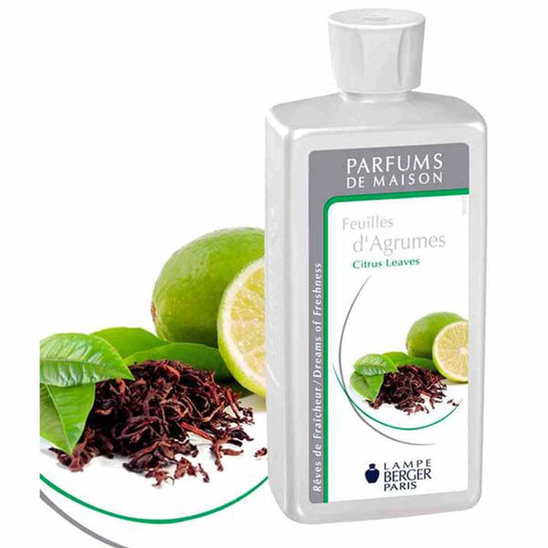 Lampe Berger Parfum Feuilles d'Agrumes 500ml, Citrus leaves - PHILmed 24 Online Shop