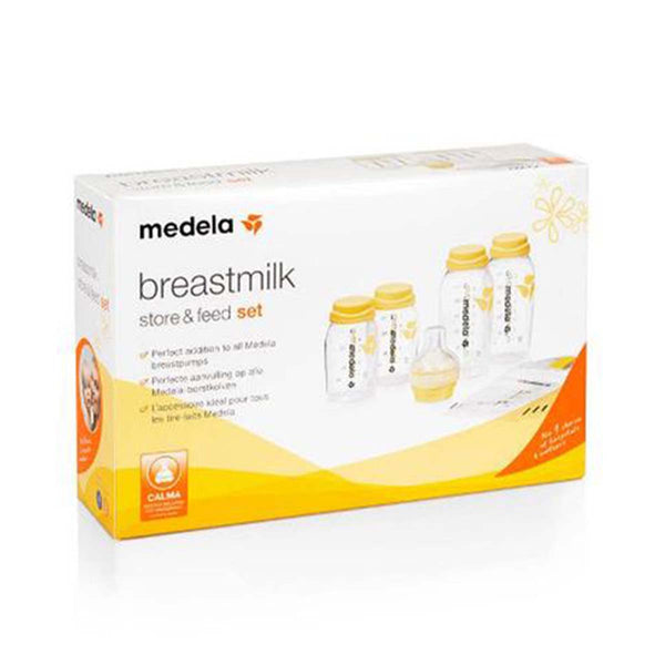 Medela Breast Milk Store and Feed Set with Calma - PHILmed 24 Online Shop