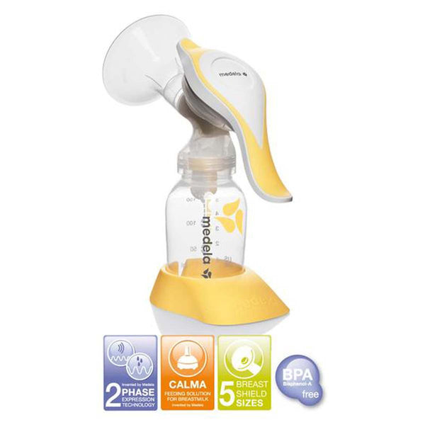 Medela Harmony manual breast pump 150ml - PHILmed 24 Online Shop