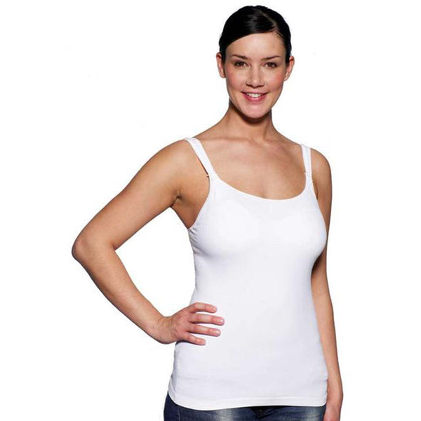 Medela Ultra Soft nursing top / White - PHILmed 24 Online Shop