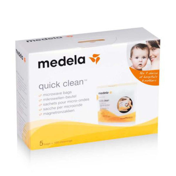 Medela Quick Clean Microwave Bags - PHILmed 24 Online Shop