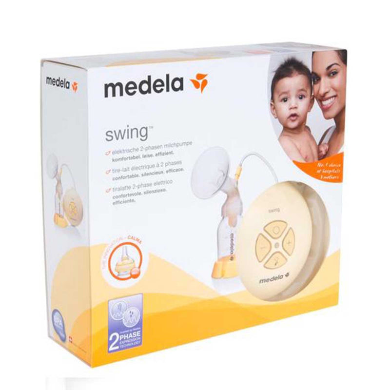 Medela Swing single electric breast pump with Calma - PHILmed 24 Online Shop