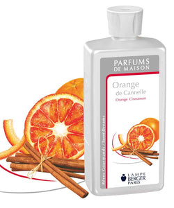 Lampe Berger Parfum Orange de Cannelle 500ml, Orange Cinnamon - PHILmed 24 Online Shop